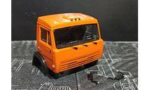 Кабина 65115 окрашенная в сборе - оранжевый  1/43, масштабная модель, КамАЗ, AVD Models, scale43
