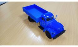 УРАЛ-ЗИС-355М бортовой - синий 1/43, масштабная модель, УралАЗ, Автоистория (АИСТ), 1:43