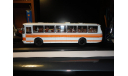 Лаз-699 Р Бело-оранжевый Classicbus (1-й выпуск), масштабная модель, 1:43, 1/43