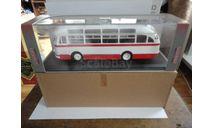 ЛАЗ-695Е (бело-красный) Classicbus (1-й выпуск), масштабная модель, scale43