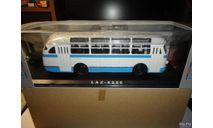 ЛАЗ-695Е (бело-голубой) Classicbus (1-й выпуск), масштабная модель, 1:43, 1/43