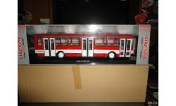 Лиаз-5256.00 (красно-белый) с номерами Classicbus