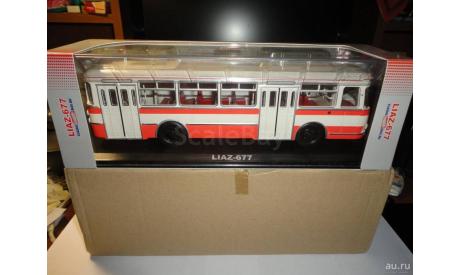 Лиаз-677 (бело-оранжевый) Classicbus. Ранний., масштабная модель, 1:43, 1/43