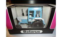 Трактор МТЗ-82 Belarus (белый/светло-голубой) Тантал, масштабная модель, Агат/Моссар/Тантал, 1:43, 1/43