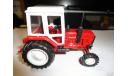 Трактор МТЗ-82 Belarus (красный, кабина белая) Тантал, масштабная модель, Агат/Моссар/Тантал, scale43