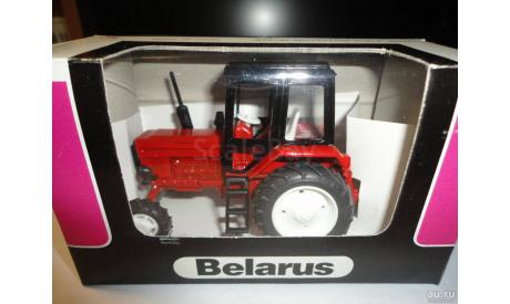 Трактор МТЗ-82 Belarus (красный, кабина черная) Тантал, масштабная модель, Агат/Моссар/Тантал, 1:43, 1/43