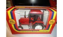 Трактор МТЗ-82 Belarus 'Люкс' (красный) Тантал, масштабная модель, Агат/Моссар/Тантал, 1:43, 1/43