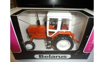 Трактор МТЗ-82 Belarus (оранжевый, кабина белая) Тантал, масштабная модель, Агат/Моссар/Тантал, scale43
