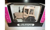 Трактор МТЗ-82 Belarus (полностью бежевый) Тантал, масштабная модель, Агат/Моссар/Тантал, 1:43, 1/43