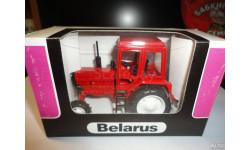 Трактор МТЗ-82 Belarus (полностью красный) Тантал, масштабная модель, scale43