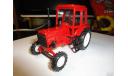 Трактор МТЗ-82 Belarus (полностью красный) Тантал, масштабная модель, 1:43, 1/43