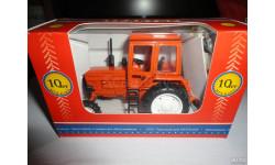 Трактор МТЗ-82 Belarus (полностью оранжевый) Тантал, масштабная модель, scale43