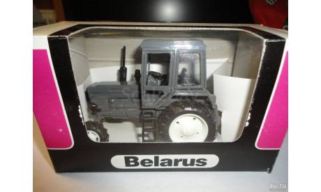 Трактор МТЗ-82 Belarus (полностью серый) Тантал, масштабная модель, 1:43, 1/43