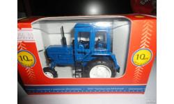 Трактор МТЗ-82 Belarus (полностью синий) Тантал, масштабная модель, 1:43, 1/43