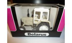 Трактор МТЗ-82 Belarus (светло-бежевый, кабина белая) Тантал, масштабная модель, Агат/Моссар/Тантал, 1:43, 1/43