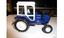 Трактор МТЗ-82 Belarus (темно-синий, кабина белая) Тантал, масштабная модель, Агат/Моссар/Тантал, 1:43, 1/43