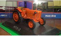 Советский трактор мтз-2, модель в масштабе 1:43, редкая масштабная модель, Hachette, scale43