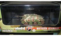 Hetzer (early) НЕ ТОЛЬКО МОСКВА, масштабные модели бронетехники, ERTL (Auto World), 1:72, 1/72