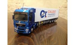 Продам масштабную модель, масштабная модель, 1:43, 1/43, Eligor, MAN TGX XXL Callejo Transports с полуприцепом 2011