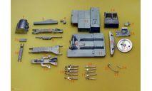 Экскаватор ЭО-4121 кит, масштабная модель трактора, Ковровец, Kempal models, 1:43, 1/43