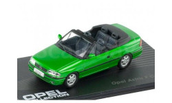 OPEL ASTRA F Cabriolet 1992-1998, масштабная модель, Altaya, 1:43, 1/43