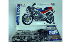 HONDA VFR750, масштабная модель мотоцикла, Tamiya, scale12