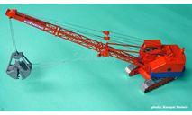Koehring 205 Clamshell, масштабная модель трактора, Kempal Models, 1:50, 1/50