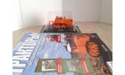 ДТ-75 с журналом №12 ... (Hachette) ..., масштабная модель, 1:43, 1/43, Тракторы. История, люди, машины. (Hachette collections)