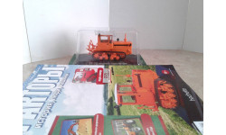 ДТ-75 второго поколения с журналом №19 ... (Hachette) ..., масштабная модель, Тракторы. История, люди, машины. (Hachette collections), scale43
