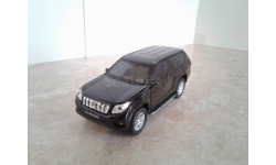 Toyota Land Cruiser Prado ... (Welly) ..., масштабная модель, scale43