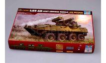 Сборная модель БТР LAV-AD, сборные модели бронетехники, танков, бтт, Trumpeter, scale35