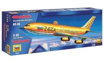Сборная модель Пассажирский авиалайнер Ил-86 «Юбилейный», сборные модели авиации, Ильюшин, Звезда, 1:144, 1/144