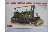US Army tractor, сборные модели бронетехники, танков, бтт, бульозер, MiniArt, scale35