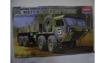 Сборная модель US M977 8x8 Cargo Truck, сборные модели бронетехники, танков, бтт, Academy, scale72