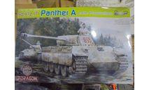 6358 Dragon 1/35 Немецкий танк SD.KFZ. 171 PANTHER A, сборные модели бронетехники, танков, бтт, 1:35