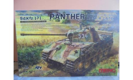Meng Model TS035 German Medium Tank Sd.Hfz.171 Panther, сборные модели бронетехники, танков, бтт, scale35