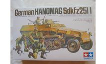 Сборная модель Hanomag Sd.kfz. 251/1, сборная модель автомобиля, Tamiya, 1:35, 1/35