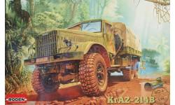 Сборная модель Советский грузовой автомобиль КрАЗ-214Б