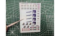 Декали  Автокросс (вариант 3) DKM0054, фототравление, декали, краски, материалы, maksiprof, scale43