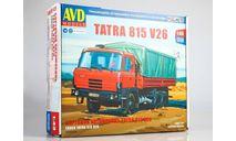 Сборная модель Tatra 815V26 бортовой, сборная модель автомобиля, AVD Models, scale43