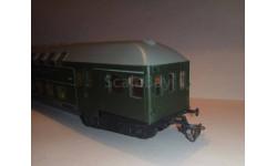 Bttb Berliner TT Bahnen двухэтажный вагон (12мм), железнодорожная модель, scale120