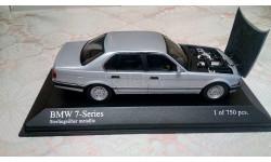 BMW 7, масштабная модель, Minichamps