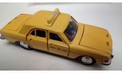 Газ 3102 такси, масштабная модель, Агат/Моссар/Тантал, 1:43, 1/43