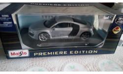 Audi R8 Maisto 1.18, масштабная модель, scale18