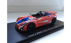 1:43 Spark - Lotus 2 Eleven Tokyo Motorshow 2007, масштабная модель, 1/43