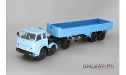 МАЗ-520 (6x2) + МАЗ-5205, голубой / синий