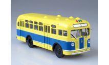 ЗИС-155 сине-жёлтый, масштабная модель, Автоистория (АИСТ), scale43