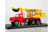 Экскаватор-планировщик UDS-110 (на шасси Tatra-148), масштабная модель, Start Scale Models (SSM), 1:43, 1/43