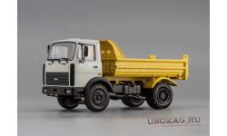 МАЗ 5551 самосвал (1991-1997), серый / жёлтый