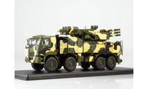 КАМАЗ-6560 ЗРПК 96К6 (Панцирь-С1) камуфляж Пустыня, масштабная модель, Start Scale Models (SSM), scale43